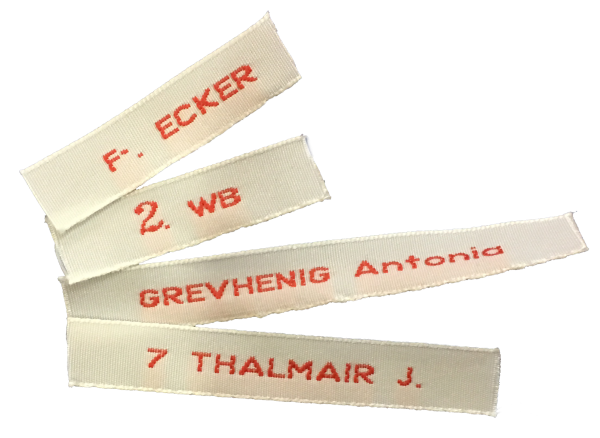Namens-Etiketten