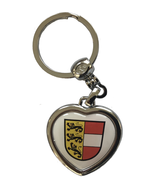 Schlüsselanhänger in Herzform