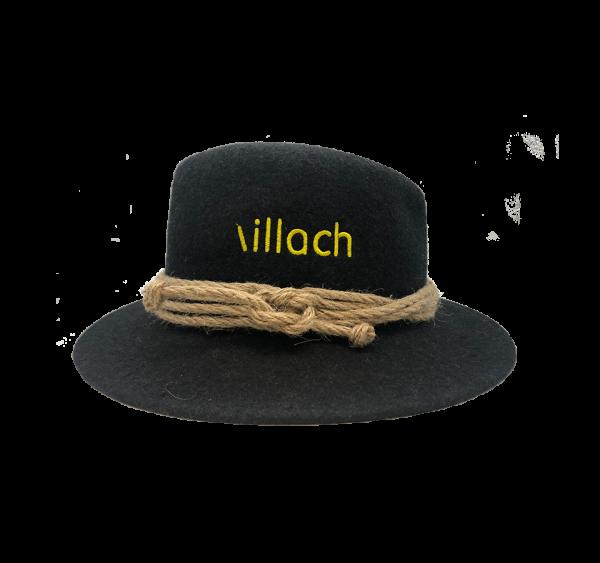 Villach Hut Schriftzug