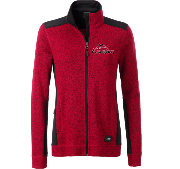 Strickfleece-Jacke Damen