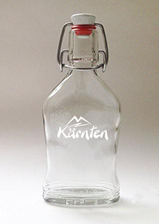 Glas Flachmann