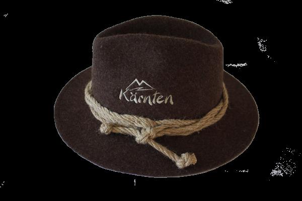 Kärnten Hut mit gesticktem Schriftzug