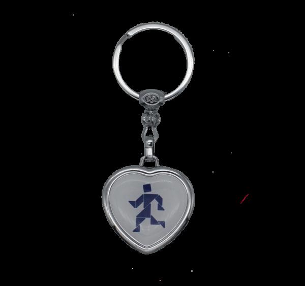 Schlüsselanhänger Herz Mankale