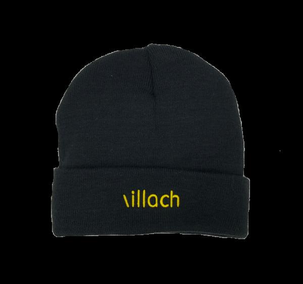 Mütze Villach Schriftzug